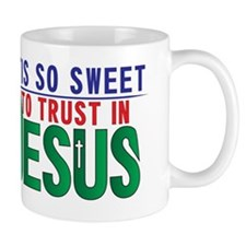 'Tis So Sweet to trust In Jesus Small Small Mug