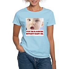 BOYCOTT BABY OIL T-Shirt
