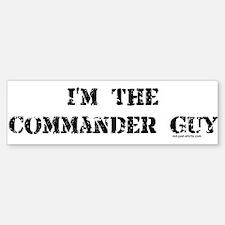 Commander Guy Bumper Bumper Bumper Sticker
