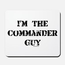 Commander Guy Mousepad