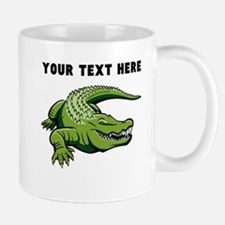 Custom Green Alligator Mugs