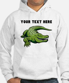Custom Green Alligator Hoodie