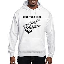 Custom Alligator Head Hoodie