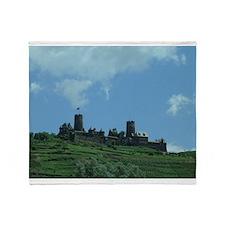 Castle in Germany Throw Blanket