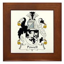 Powell (Wales) Framed Tile