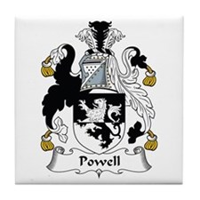 Powell (Wales) Tile Coaster