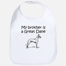 My Brother Is A Great Dane Bib