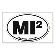 Mackinac Island Sticker Decal