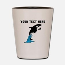 Custom Killer Whale Shot Glass