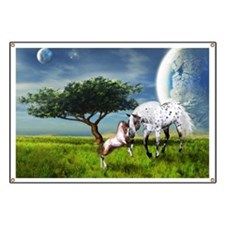Horses Love Forever Banner