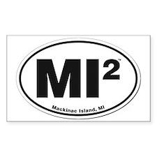 Mackinac Island Sticker Decal