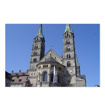 beautiful cathedral atop a hill in Bamberg Germany ©Amy Marie 2004 chasingthegnome