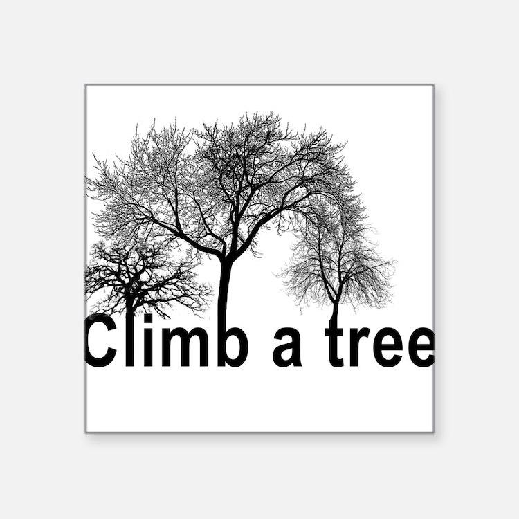 climb a tree Sticker