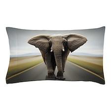 Elephant Road Travel Pillow Case