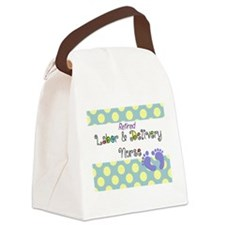 LD nurse 4 Canvas Lunch Bag