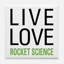 Rocket Science Tile Coaster