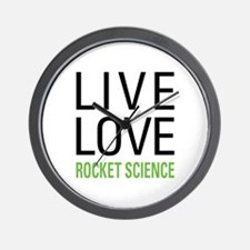 Rocket Science Wall Clock