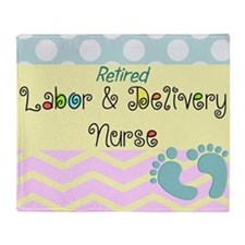 LD Nurse 6 Throw Blanket