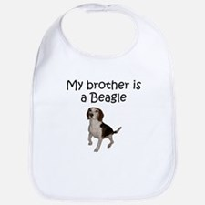 My Brother Is A Beagle Bib