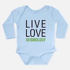 Seismology Long Sleeve Infant Bodysuit