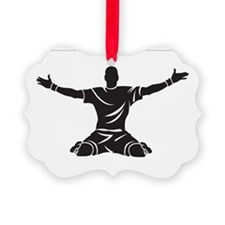 Soccer Goal Celebration Ornament