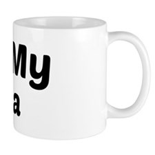 I Heart My Akita Mug