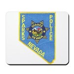 Sparks Police Mousepad