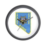 Sparks Police Wall Clock