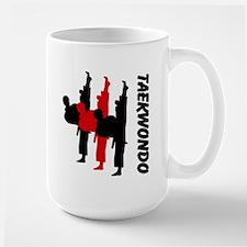 Taekwondo Personalised Large Mug