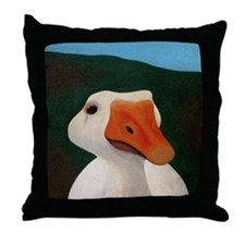 Goose Square Pillow Throw Pillow