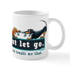 Dachshund Let Go Mugs