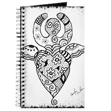 Goddess #2 Black Edges Journal