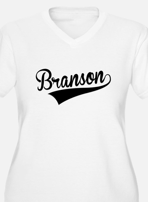 Branson, Retro, Plus Size T-Shirt