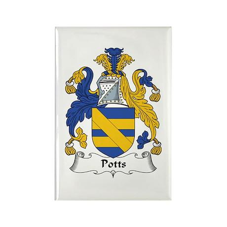 Potts Rectangle Magnet (100 pack)