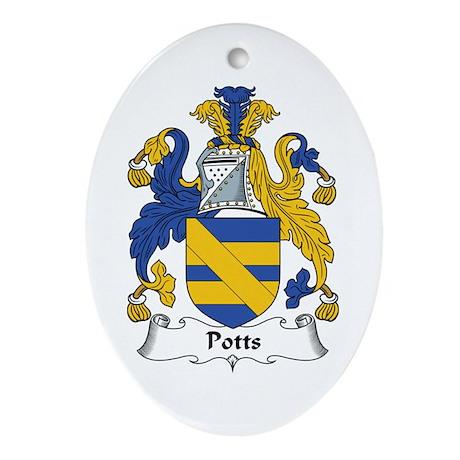 Potts Oval Ornament