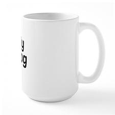 I Heart My Bulldog Mug