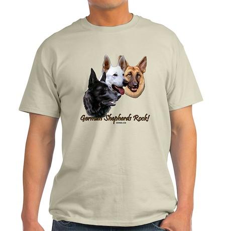 German Shepherds Rock Light T-Shirt