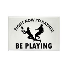 Rugby playing designs Rectangle Magnet