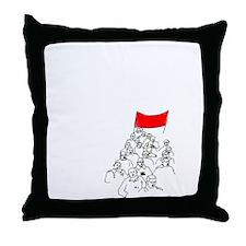 Funny Urn Throw Pillow