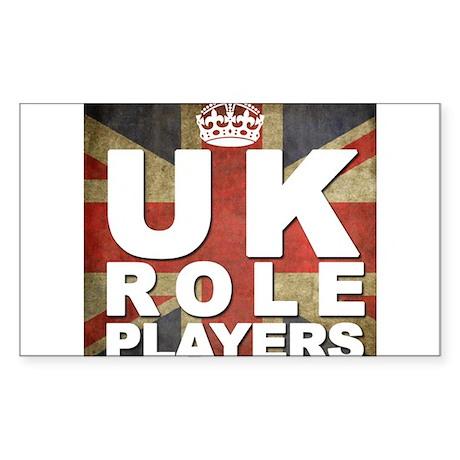 UK Role Players Sticker