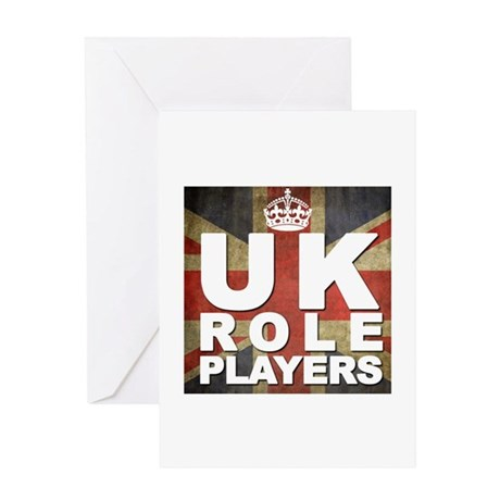 UK Role Players Greeting Cards