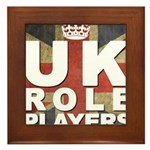 UK Role Players Framed Tile