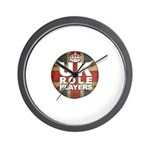 UK Role Players Wall Clock