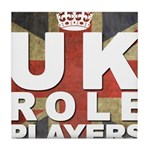 UK Role Players Tile Coaster