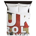 UK Role Players Queen Duvet