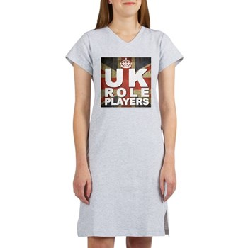 UK Role Players Women's Nightshirt