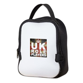 UK Role Players Neoprene Lunch Bag