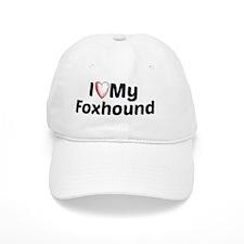 I Heart My Foxhound Baseball Cap