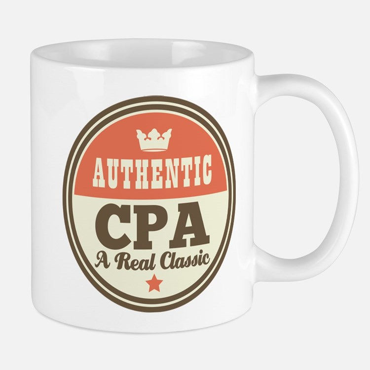 Authentic CPA Mug