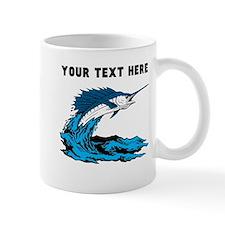 Custom Blue Marlin Mugs